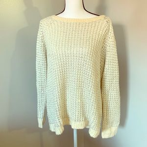 Lane Bryant scoop neck sweater